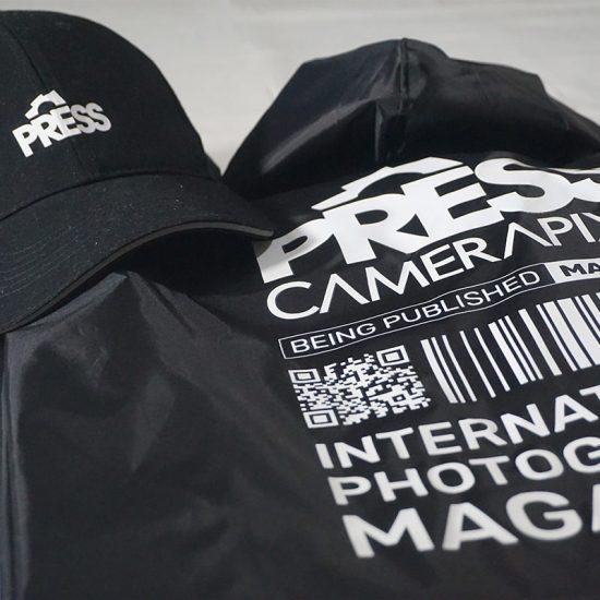 press waterproof jacket with press cap