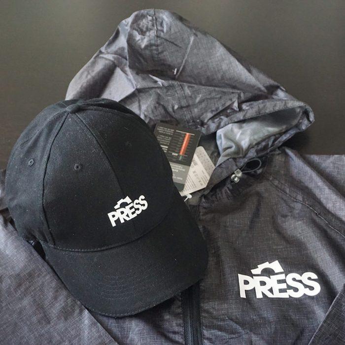 personalized press waterproof jacket