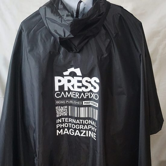 personalized press poncho