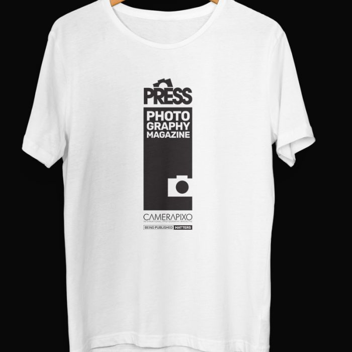 t-shirt with press design for journalists