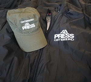 press cap and waterproof jacket
