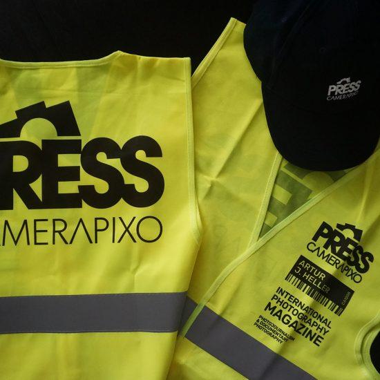 press vest with press cap