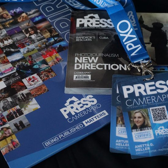 Press ID cards for freelance journaists