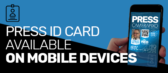 Press ID Cards available on all mobile devices