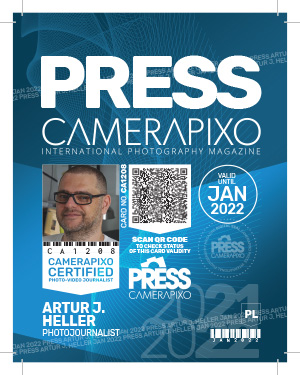 Camerapixo Press ID Card - large card - sample